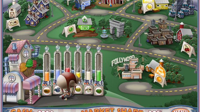 Ice Cream Craze: Natural Hero Screenshot 8