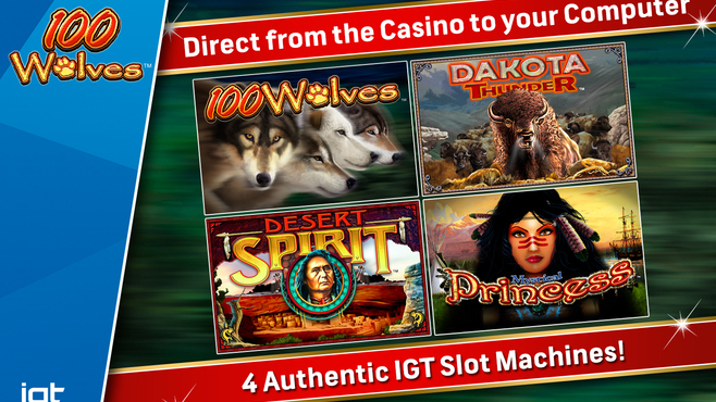 IGT Slots 100 Wolves Screenshot 2