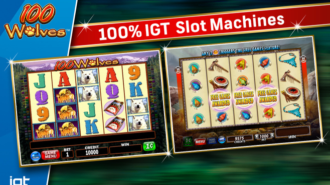 IGT Slots 100 Wolves Screenshot 4