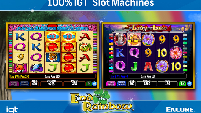 IGT Slots End of the Rainbow 8-Pack Screenshot 1