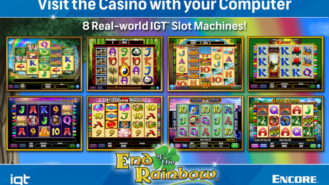 IGT Slots End of the Rainbow 8-Pack Screenshot 3