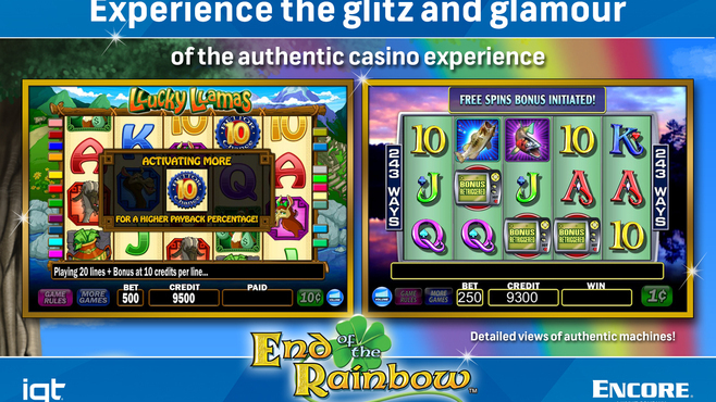 IGT Slots End of the Rainbow 8-Pack Screenshot 5