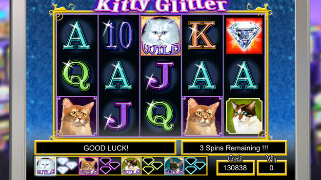 IGT Slots Kitty Glitter Screenshot 1