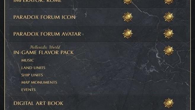 Imperator: Rome - Deluxe Edition Upgrade Pack Screenshot 1