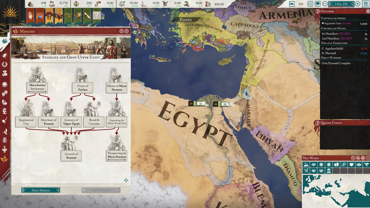 Imperator: Rome - Heirs of Alexander Content Pack Screenshot 2