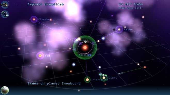 Infinite Space III: Sea of Stars Screenshot 1