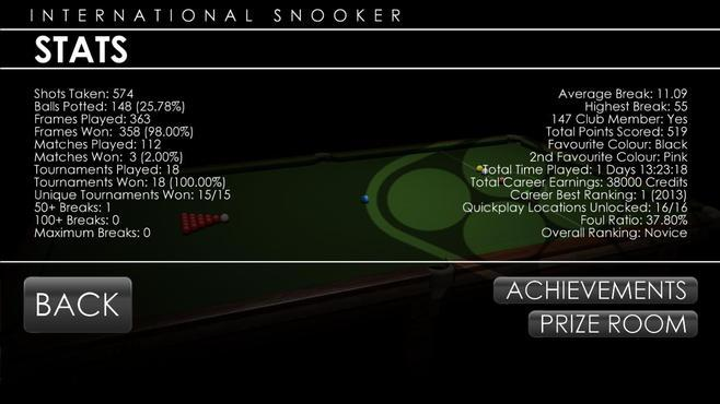 International Snooker 2012 Screenshot 12