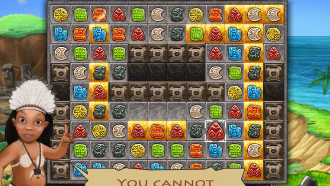Jewel Keepers: Easter Island Screenshot 2
