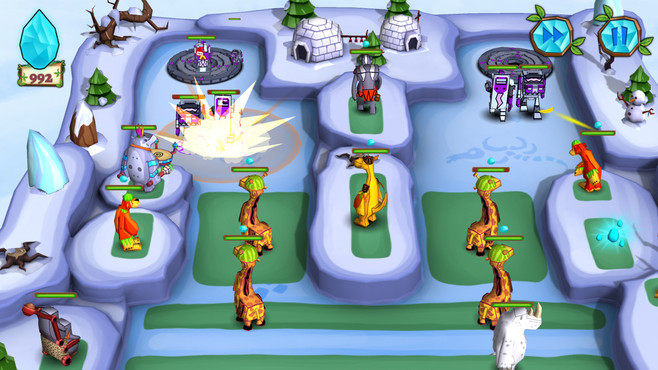 Jungle vs. Droids Screenshot 2