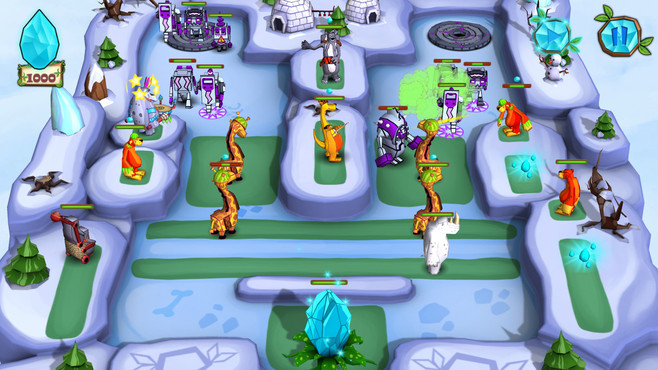 Jungle vs. Droids Screenshot 6