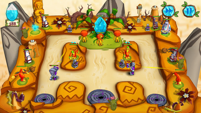 Jungle vs. Droids Screenshot 7