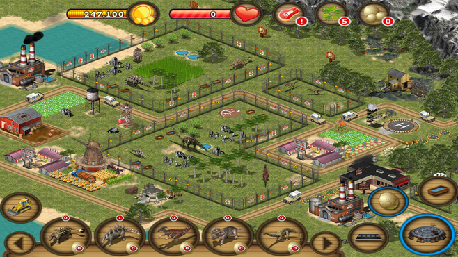 Jurassic Island: The Dinosaur Zoo Screenshot 2