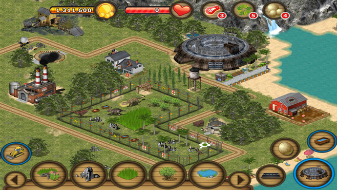 Jurassic Island: The Dinosaur Zoo Screenshot 4