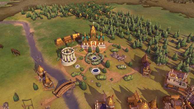 Sid Meier's Civilization® VI - Khmer and Indonesia Civilization & Scenario Pack Screenshot 1