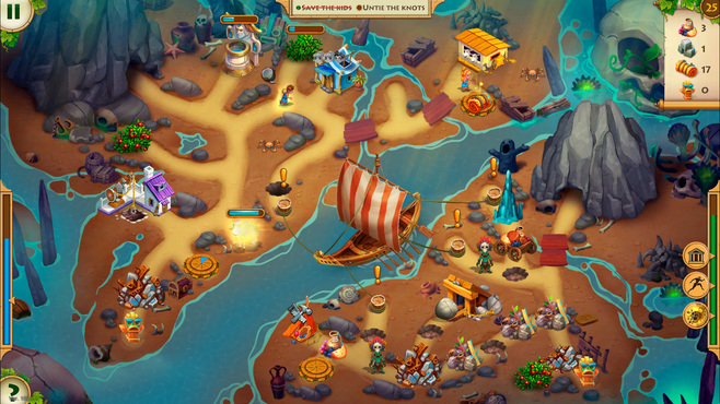 Kids of Hellas: Back to Olympus Collector's Edition Screenshot 2