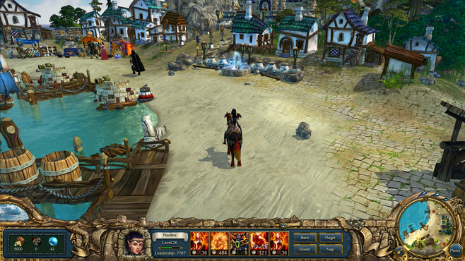 King's Bounty: Dark Side Screenshot 2