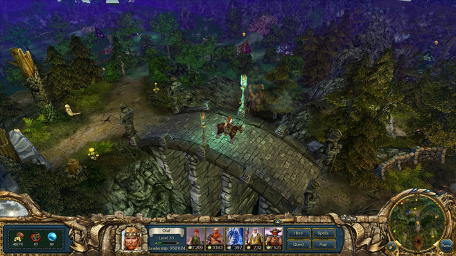 King's Bounty: Warriors of the North - Ice and Fire Screenshot 1