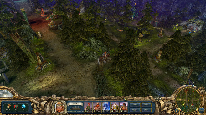 King's Bounty: Warriors of the North - Ice and Fire Screenshot 9