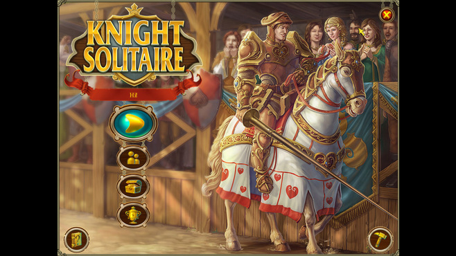 Knight Solitaire Screenshot 1