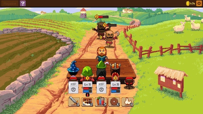 Knights of Pen and Paper 2: Deluxiest Edition Screenshot 5