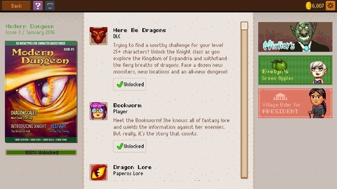 Knights of Pen and Paper 2 - Here Be Dragons Screenshot 2