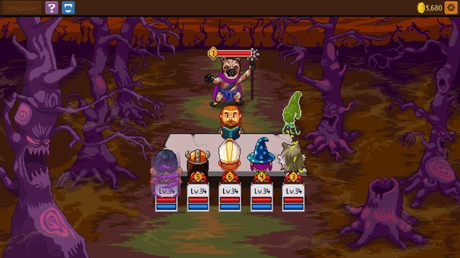 Knights of Pen and Paper 2 - Here Be Dragons Screenshot 6