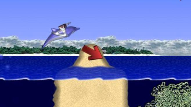 Laser Dolphin Screenshot 1