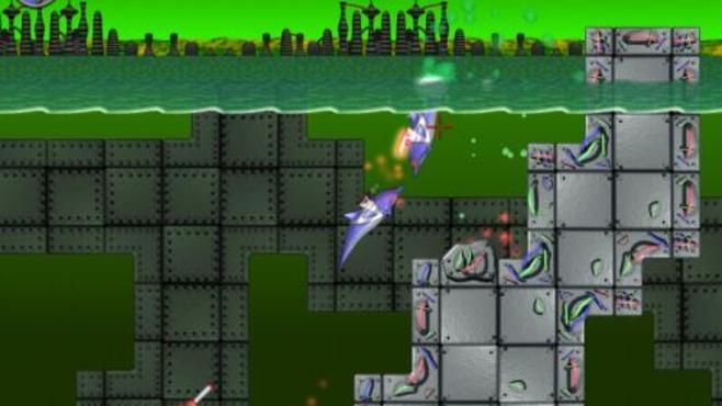 Laser Dolphin Screenshot 2