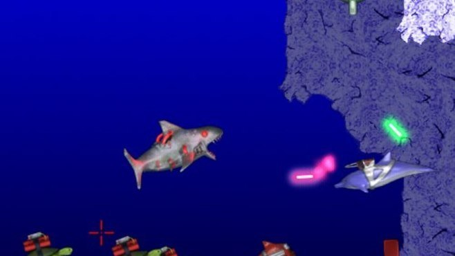 Laser Dolphin Screenshot 6