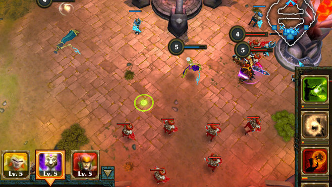 Legendary Heroes Screenshot 1