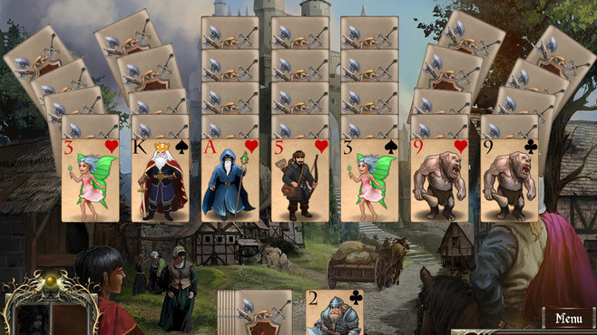 Legends of Solitaire: Curse of the Dragons Screenshot 1