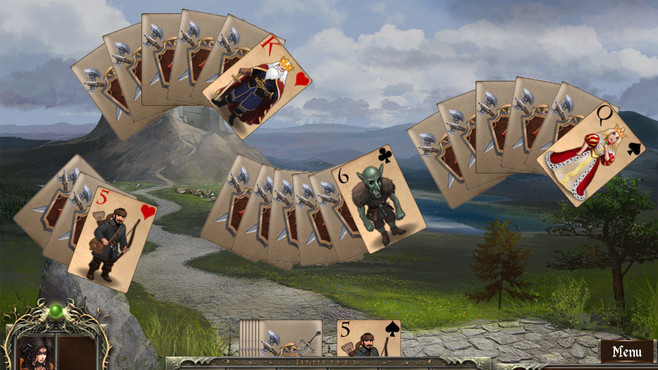 Legends of Solitaire: Curse of the Dragons Screenshot 4