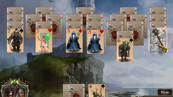 Legends of Solitaire: Curse of the Dragons Screenshot 5