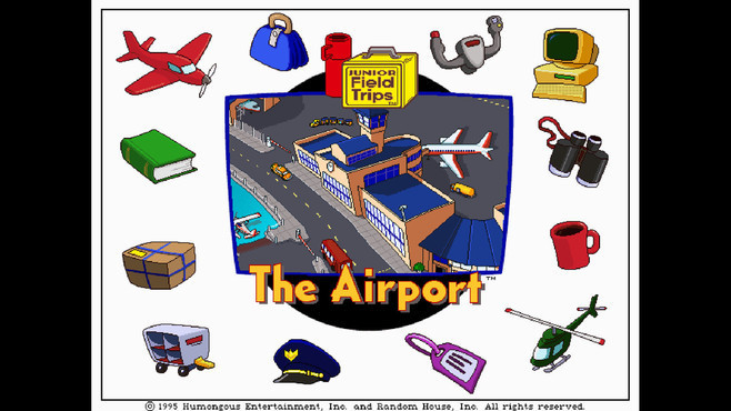 Let's Explore the Airport (Junior Field Trips) Screenshot 2