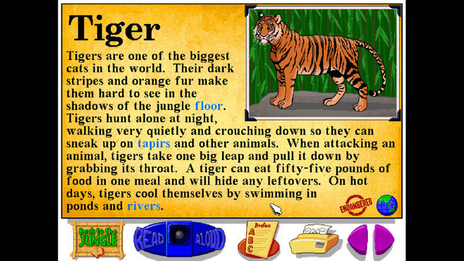Let's Explore the Jungle (Junior Field Trips) Screenshot 2