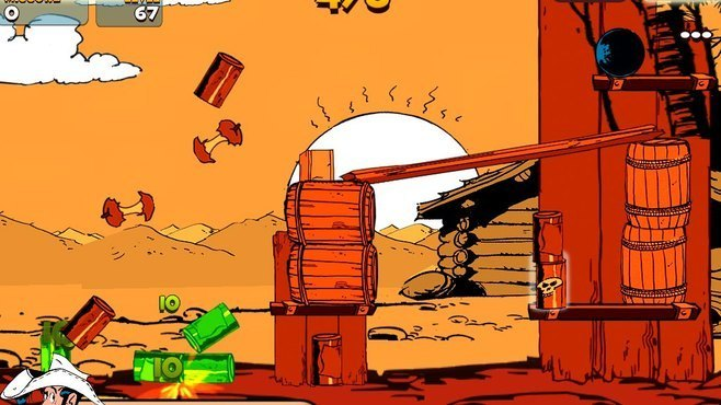 Lucky Luke Shoot & Hit Screenshot 1