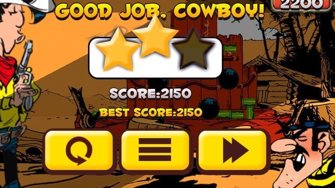 Lucky Luke Shoot & Hit Screenshot 5