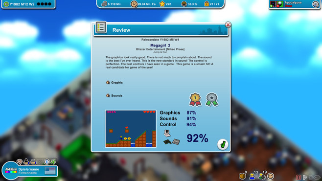 Mad Games Tycoon Screenshot 6
