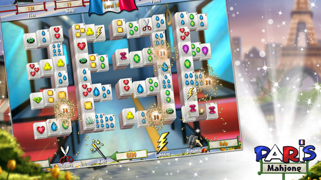 Mahjong Adventure - Paris Screenshot 3