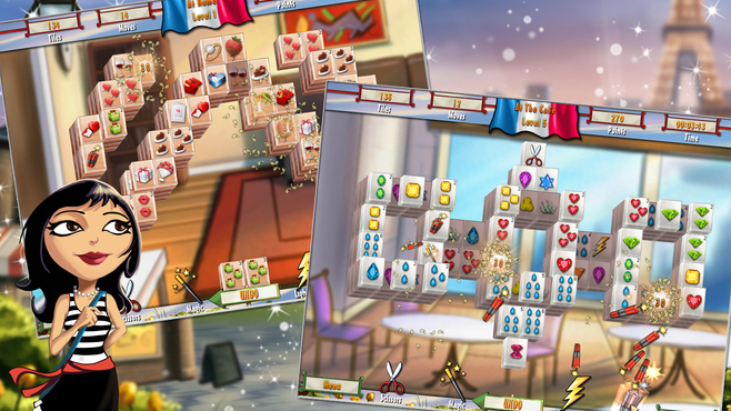Mahjong Adventure - Paris Screenshot 4