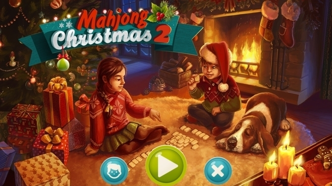 Mahjong Christmas 2 Screenshot 1