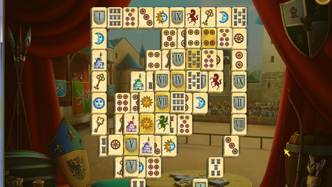 Mahjong Royal Towers Screenshot 1
