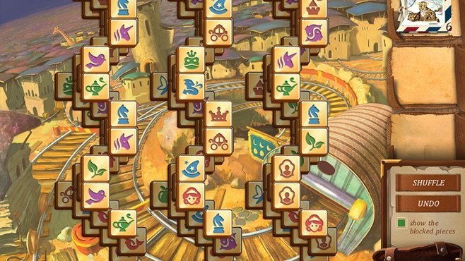 Mahjong Secrets Screenshot 2
