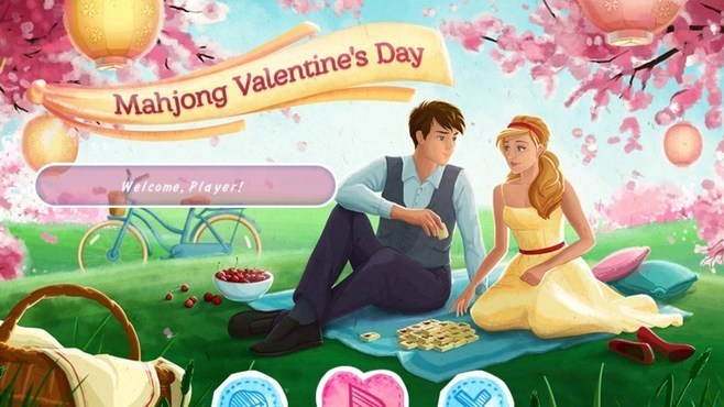 Mahjong Valentines Day Screenshot 1