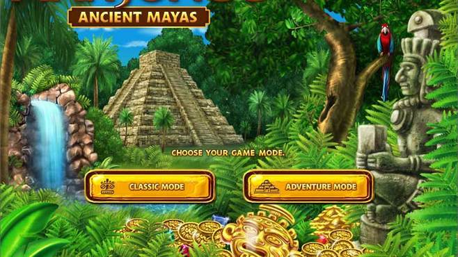 Mahjongg – Ancient Mayas Screenshot 1