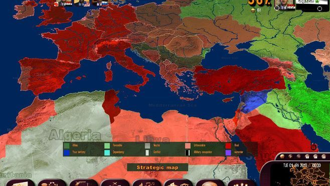 Masters of the World - Geopolitical Simulator 3 Screenshot 8