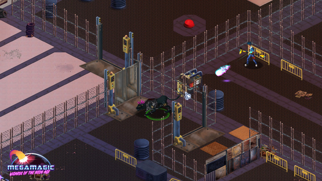 Megamagic: Wizards of the Neon Age Screenshot 2