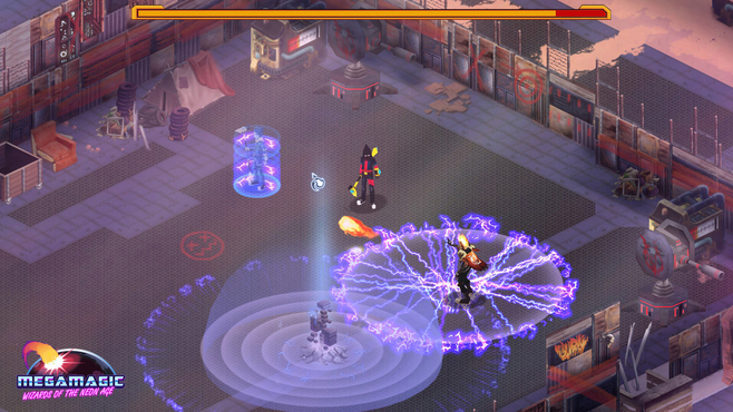 Megamagic: Wizards of the Neon Age Screenshot 3