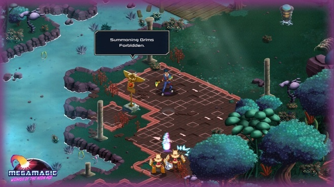 Megamagic: Wizards of the Neon Age Screenshot 4