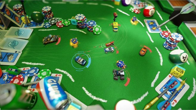 Micro Machines World Series Screenshot 1